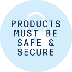 Products safe & secure