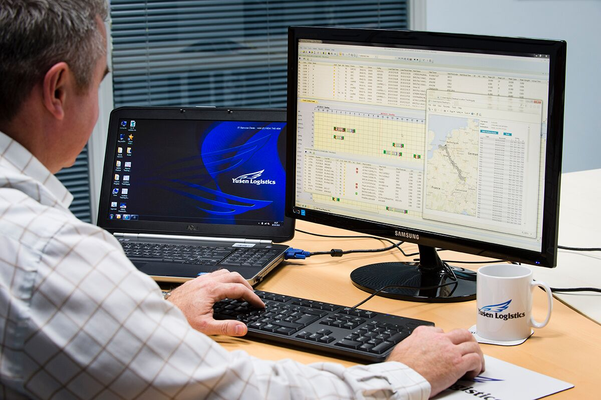 Yusen's Griffin system gives you greater shipment visibility for supply chain control.